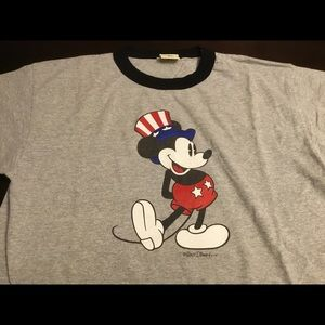 Vintage Mickey Mouse Ringer T-shirt